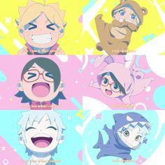 Inojin, Boruto And Sarada, Naruto Shippuden Sasuke, Naruto Family, Boruto Naruto Next Generations, Ino And Sai, Boruto Characters, Villain Deku, Dark Art Drawings