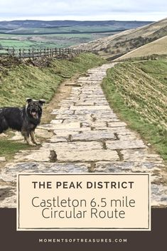 A mile Peak District circular route starting and finishing in Castleton. Tips for a fantastic walking route for a beautiful day out in England! Places To Visit Uk, Places To Travel, Peak District England, Days Out In England, Walking Routes, Places Of Interest, English Countryside, Lake District, Day Trips