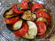 Moussaka - Einfach Hackfleisch weglassen und vegetarisch zubereiten. Ägyptisches Rezept, Ägypten,