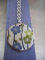 Cathie Filian: Mod Podge Pendant Necklaces