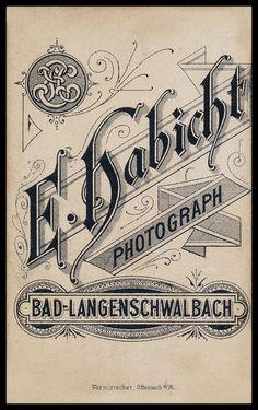 E. Habicht, Fotograf, Bad Langenschwalbach. Nach 1927 Bad Schwalbach, Hessen Rhein-Taunus-Kreis.