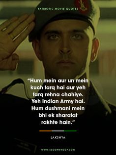 10 Quirky Bollywood Dialogues That Perfectly Explain Why Mondays Are So Khooni Motivational Military Quotes, Motivational Picture Quotes, Inspirational Quotes, Patriotic Movies, Patriotic Quotes, Study Quotes, Life Quotes, Indian Army Quotes, Indian Army Wallpapers