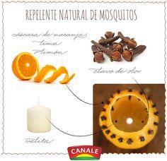 Repelente natural de mosquitos