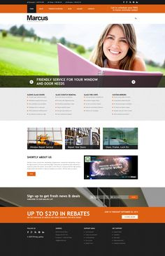 Joomla Theme , Window Door Repairs
