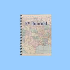 RV Journal...definitely gonna have to get one....keep track of all the great places and things we are gonna see.