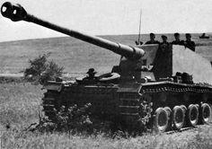 12,8 cm Selbstfahrlafette auf VK 30.01 (H) « Sturer Emil » движется к Сталинграду. 1942 г.