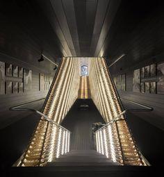 Cinema Center In Matadero de Legazpi / Churtichaga & Quadra Salcedo Architects .......if Darth Vader redecorated