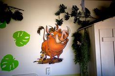 Timon & Pumbaa in Jungle kamer