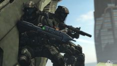 Raid on the Financial Reserve by on DeviantArt Armor Concept, Concept Art, Cyberpunk, Odst Halo, Halo Armor, Halo Game, Starship Troopers, Pokemon, Future Soldier