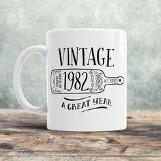 35th Birthday, 1982 Birthday, 35th Birthday Gift, 35th Birthday Idea, Vintage, 1982, Happy Birthday, 35th Birthday Present for 35 year old!