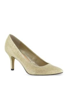 Bella-Vita Gold Glitter Define II Pump