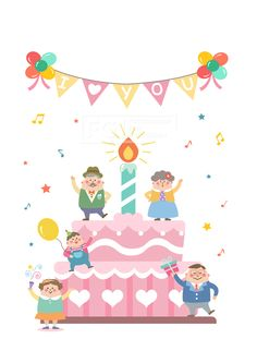 벡터, 에프지아이, 사람, 캐릭터, 오브젝트, 생활, 라이프, 이벤트, 행복, 생일, 축하, 케이크, 파티, 남자, 여자, 노인, 할머니, 할아버지, 엄마, 아빠, 소년, 가족, 군중, life style, 패밀리데이, SILL165,일러스트, illust, illustration #유토이미지 #프리진 #utoimage #freegine 19607589