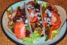 Veggie Bean Tacos | New Paradigm Health Cookery | Information and Recipes about New Health Enhancing, Whole Food, Plant-Based Diet