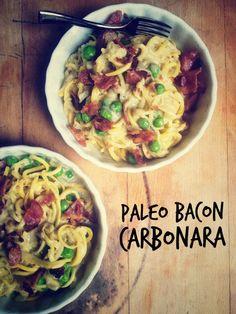 """Bacon Carbonara """"Pasta"""""""