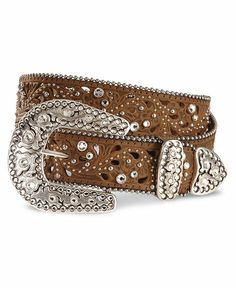 or this one is just as nice to add to the wish list too.... Justin Palazzo Bling Leather Belt