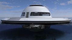 Watch: UFO-like floating houseboat takes you on the voyage of your dreams