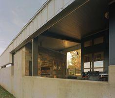 round mountain house by demx architecture in goshen, arkansas