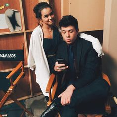 """""""Bradley was too busy checking scores. The series finale for Mighty Med is tonight on Disney XD at 8 pm! You don't wanna miss it."""" Bradley Steven Perry, Mighty Med, Paris Berelc, Disney Xd, Young Actors, Disney Channel, Leo, Polaroid Film, Photo And Video"""