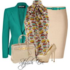 Stylish Eve 2013 Outfits: Formal Outfits in Bright Colors