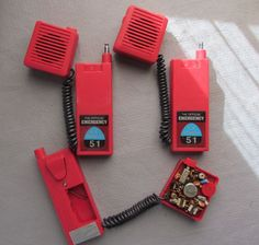 Emergency! walkie talkies!