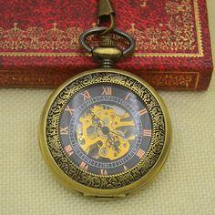 $64.00 (Buy here: https://alitems.com/g/1e8d114494ebda23ff8b16525dc3e8/?i=5&ulp=https%3A%2F%2Fwww.aliexpress.com%2Fitem%2FWholesale-Fashion-Mechanical-Pocket-Watch-Antique-Classic-Bronze-Steampunk-Fob-Watches-Men-Father-Gift-Hour-Chain%2F32685795099.html ) Wholesale Fashion Mechanical Pocket Watch Antique Classic Bronze Steampunk Fob Watches Men Father Gift Hour Chain Hour Good New for just $64.00