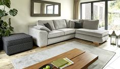 Corner sofas that come in all sizes. From compact corner sofas and chaises, to larger statement corner sofas perfect for the family or entertaining. Maximise your living space with a corner sofa from Sofology. New Living Room, Living Room Decor, Living Spaces, Scatter Cushions, Corner Sofa, Living Room Inspiration, Fabric Sofa, Leather Sofa, Sofa Bed