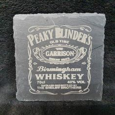 Peaky Blinders Gifts, How To Find Out, Give It To Me, Slate Coasters, Present Gift, Perfect Christmas Gifts, Decanter, Royal Mail, Whisky