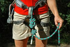 6 Crucial Knots All Climbers Need to Know: A figure-8 follow-through knot is the best tie-in knot for rock climbing. Learn to tie it well...your life depends on it!