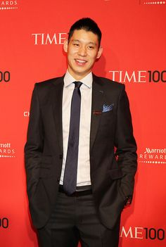 Jeremy Lin attending the TIME 100 Gala celebrating TIME's 100 Most Influential People In The World at Jazz at Lincoln Center in New York City