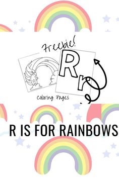 R is for Rainbows Preschool Activity Bundle. This bundle is full of fun, engaging, book-based activities for you and your preschooler to do together. Repin and check out the blog post for free downloads and links to preschool resources including letter R coloring pages, rainbow-themed activities, coloring pages, and a letter r mini book! #readingtodiscover #letterr #risforrainbow #rainbows  #preschoolactivities #freebie #freecoloringpages #freeprintables #preschoolathome # via…