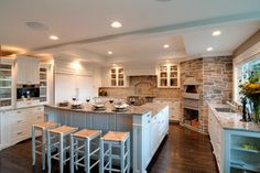 Pizza Ovens Indoor Design Ideas, Pictures, Remodel, and Decor - page 4