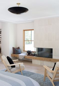 I Design, You Decide: Mountain Fixer-Upper - The Fireplace - Emily Henderson Emily Henderson Lake House Fixer Upper Mountain Home Decor Fireplace Ideas Rustic Refined Simple White Wood Stone 171 Living Room Decor Fireplace, Fireplace Design, Fireplace Ideas, Modern Stone Fireplace, Tile Fireplace, Modern Fireplaces, Fireplace Hearth, Fixer Upper House, Coastal Living Rooms