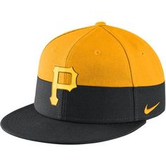 the best attitude 02c9c 35eba Pittsburgh Pirates Nike True Color Snapback Adjustable Hat - Gold Black