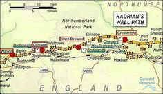 Hadrian'Wall path Wall Maps, Hadrian's Wall, Roman Britain, British Things, North East England, England And Scotland, Historical Pictures, Pilgrimage, I Fall In Love