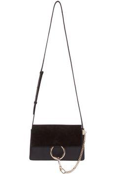 chloe imitation - CHLO�� Grey Leather & Suede Faye Clutch. #chlo�� #bags #lining ...