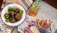 Katukeittiö: aasialaiset lihapullat ja tahmakastike