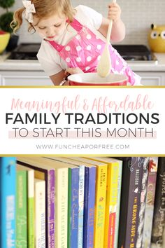 7 Cheap Ways To Start A Family Tradition - Fun Cheap or Free