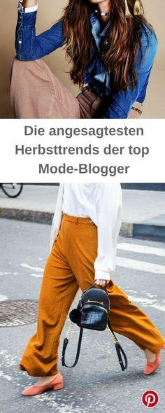 Die angesagtesten Herbsttrends der Mode-Blogger