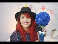 DIY: Bola de flores para decorar o quarto/festas - YouTube