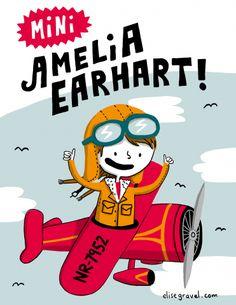 Mini Amelia Earhart - Elise Gravel