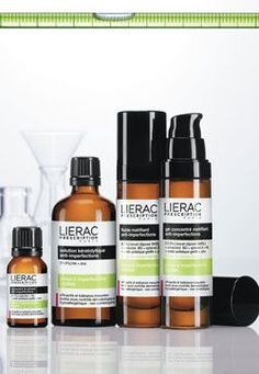 An apothecary look for Lierac... read more: http://www.beautypackaging.com/articles/2013/01/online-exclusive-an-apothecary-design-for-lierac