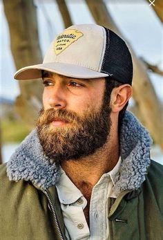 Scruffy Men, Handsome Black Men, Hairy Men, Bearded Men, Rugged Style, Rugged Men, Mens Hairstyles With Beard, Hair And Beard Styles, Haircuts For Men