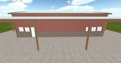 Dream #steelbuilding built using the #MuellerInc web-based 3D #design tool http://ift.tt/223oecy