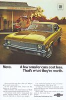 Chevy Nova 307 1970 Ad Picture