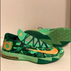 separation shoes 8a958 5c3ba Nike Shoes   Nike Kd Vi 6 Easter Kevin Durant Basketball Shoes   Color   Green