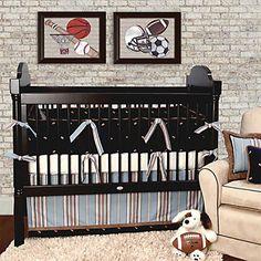Football Hero Crib Set
