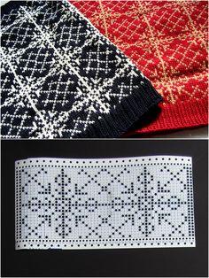 Fair Isle Knitting Patterns, Knitting Machine Patterns, Knitting Charts, Easy Knitting, Knitting Stitches, Knitting Designs, Knitting Socks, Knit Patterns, Stitch Patterns