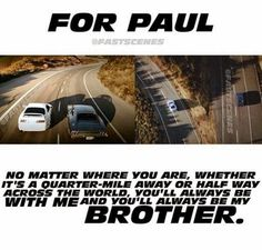 See You Again, from the soundtrack of Furious 7. I've learned that this is in memory of a actor named Paul. This song is extremely touching for me.