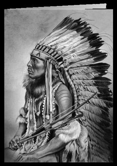 Native american drawings: 17 best images about maria d'angelo on pinte Native American Drawing, Native American Tattoos, Native American Warrior, Native American Pictures, Native American Artwork, American Indian Art, American Indians, American History, Indian Chief Tattoo