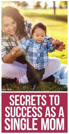 6 Single Mom Success Secrets- you are not alone!